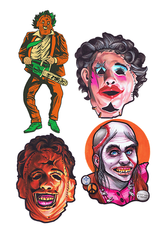 Texas Chainsaw Massacre Wall Decor Series 1 Collection by Trick or Treat Studios - Collectors Row Inc.