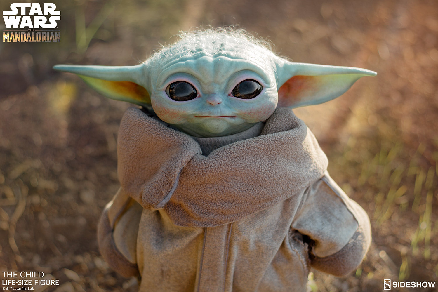 The Child Baby Yoda Life-Size Figure