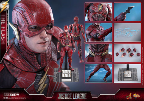 Hot Toys The Flash Justice League - Movie Masterpiece Series - Sixth Scale Figure - Collectors Row Inc.
