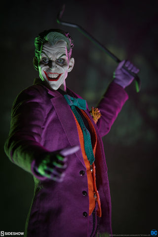 The Joker DC Comics Sixth Scale Action Figure by Sideshow Collectibles - Collectors Row Inc.