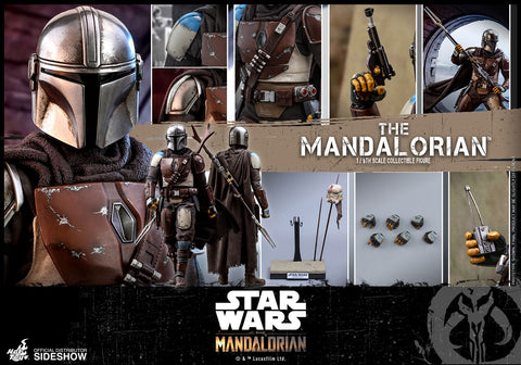 Hot Toys Boba Fett The Mandalorian Sixth Scale Figure