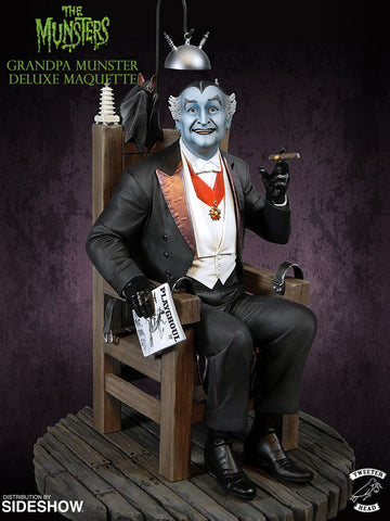 Munsters Grandpa Deluxe Artist Proof Color Maquette by Tweeterhead - Collectors Row Inc.