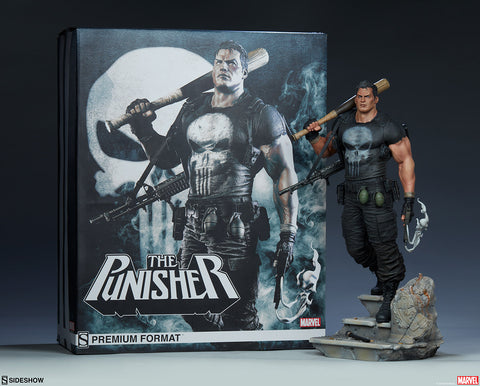 The Punisher Marvel Comics Frank Castle Premium Format Statue by Sideshow Collectibles