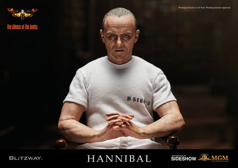 Blitzway Hannibal Lecter White Prison Uniform Version 1:6 Scale Action Figure - Collectors Row Inc.