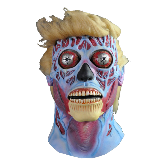 They Live Alien Deluxe Mask - Blonde Version