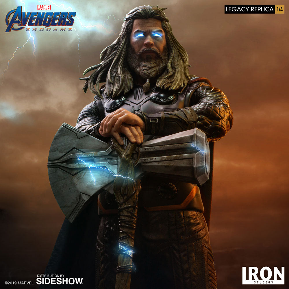 Thor Marvel Avengers: Endgame 1/4 Scale Statue by Iron Studios - Collectors Row Inc.