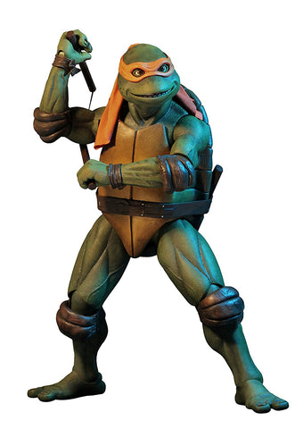 NECA - Teenage Mutant Ninja Turtles (1990 Movie) - 1/4 scale action figure - Michelangelo - Collectors Row Inc.