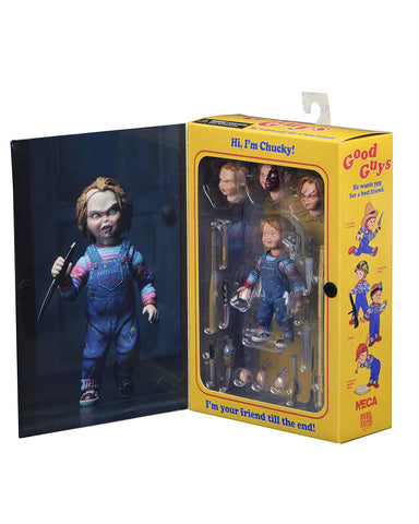NECA - Chucky 4 inch Scale Action Figure - Ultimate Chucky - Collectors Row Inc.