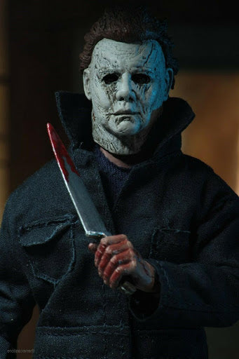 "Halloween (2018) - 8"" Clothed Action Figure - Michael Myers - Collectors Row Inc."