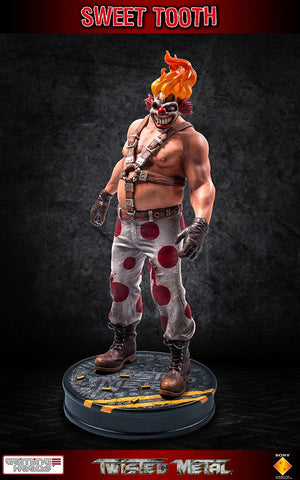 Twisted Metal Sweet Tooth Playstation Statue by Gaming Heads