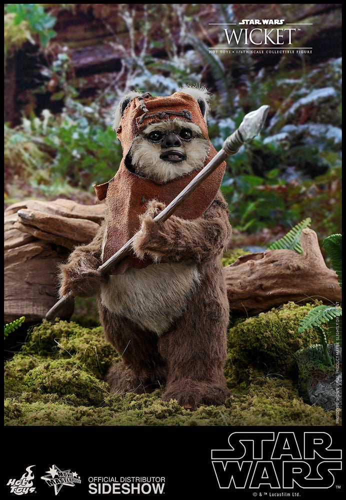 Wicket Return of the Jedi Sixth Scale Figure - Collectors Row Inc.