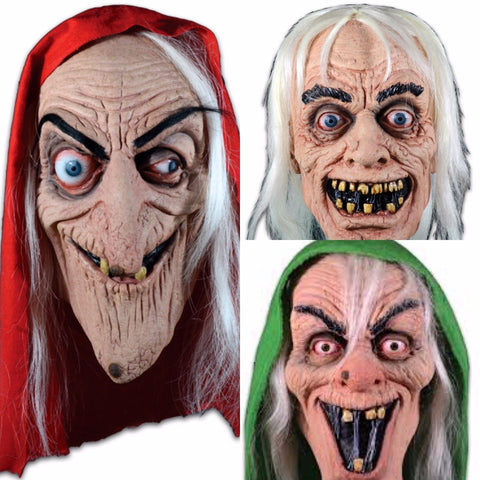 EC Comic Collection Tales From the Crypt SET OF 3 WITCH KEEPER Halloween Mask - Collectors Row Inc.