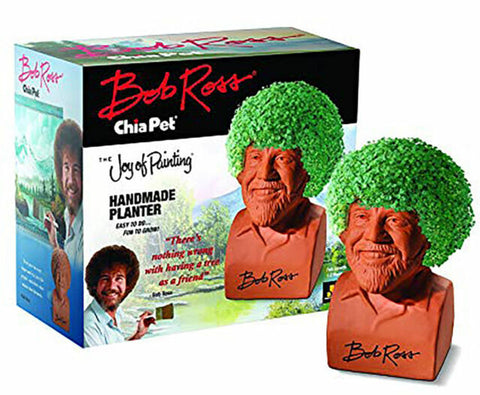 Neca Chia Pet - Bob Ross The Joy of Painting - Collectors Row Inc.