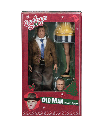 NECA Christmas Story Clothed Action Figure--Old Man - Collectors Row Inc.