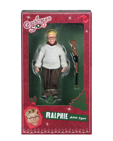 NECA A Christmas Story Ralphie 8-inch Clothed Action Figure - Collectors Row Inc.
