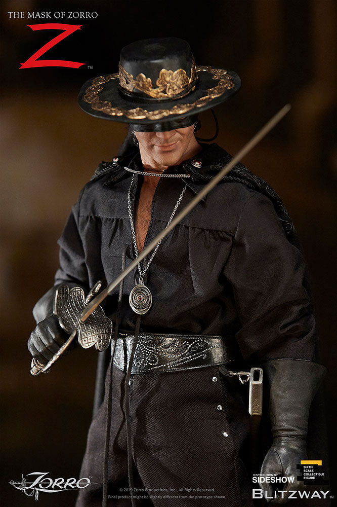 The Mask of Zorro Antonio Banderas Sixth Scale Figure - Collectors Row Inc.