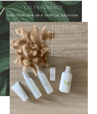 Take your skin on a tropical vacation