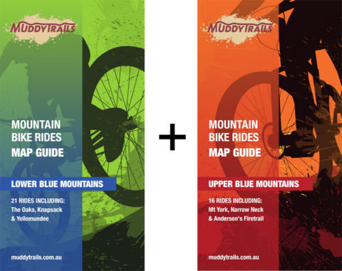Map Bundle Lower and Upper Blue Mountains Trail Maps
