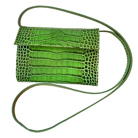 Sera Bella Green Purse
