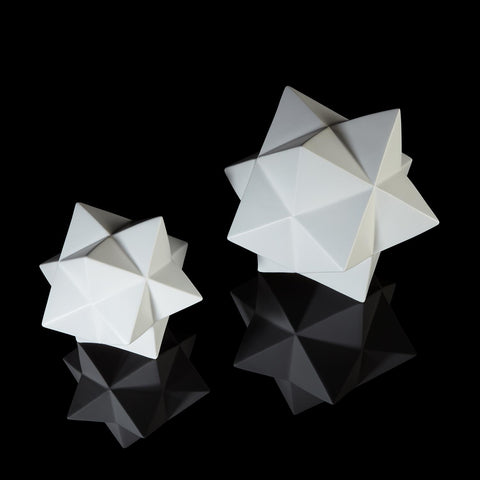Stellated Dodecahedron Matte White