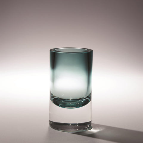 Thick Cylinder Glass Vase