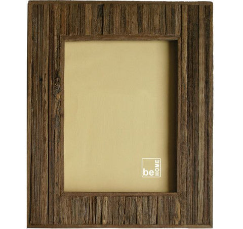 Wooden Striped Photo Frame