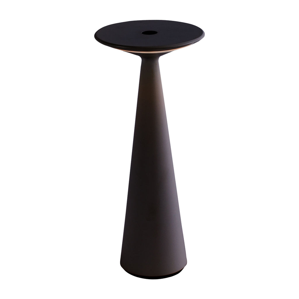 Candela Rechargeable Table Lamp Black