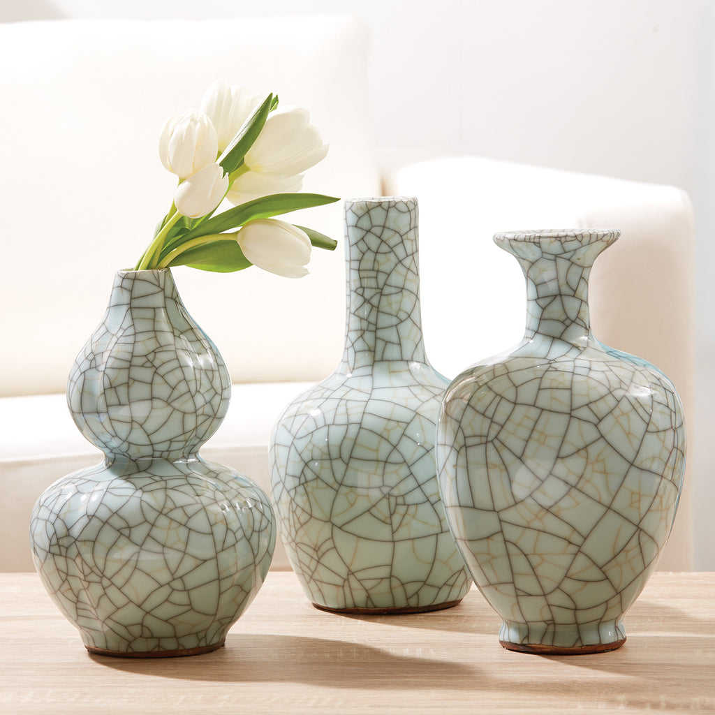 Celadon Crackle Vase