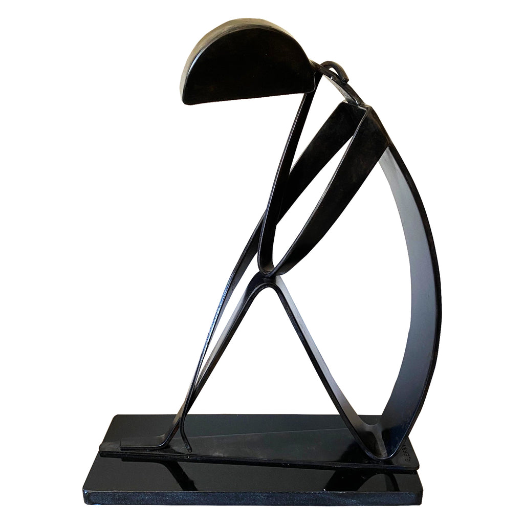 Gadi Efrat Metal Sculpture Black