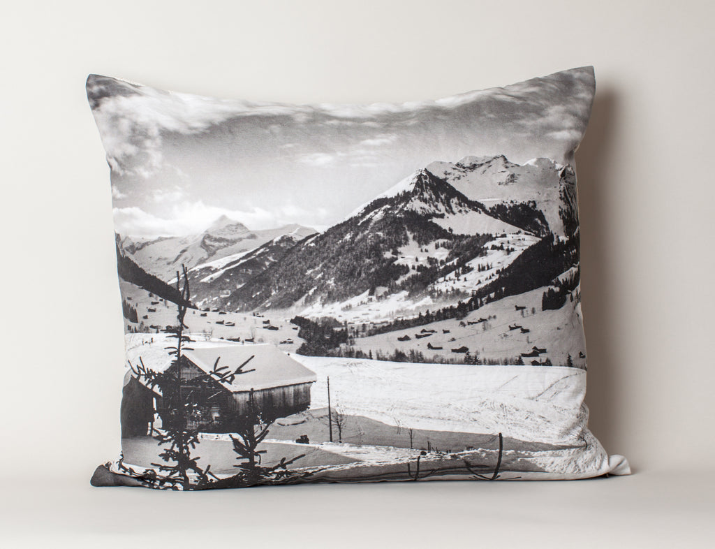 Gstaad Valley- Switzerland Cushion