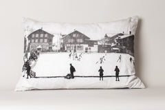 Hockey-Gstaad, Switzerland Cushion