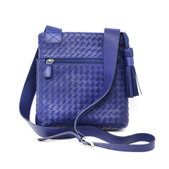 Sera Travel Cross-body Woven Purse
