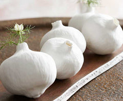 Porcelain Pomegranate Vases