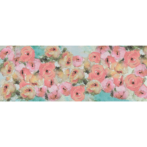 Soft Bloom Pastel Scarf