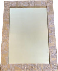 Worm Wood Mirror