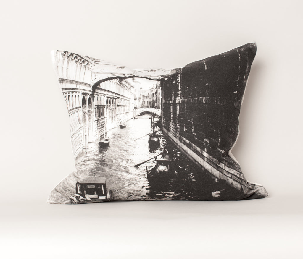 Bridge of Sighs Venice Cushion