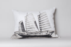 Chinese Junk Sailboat Cushion