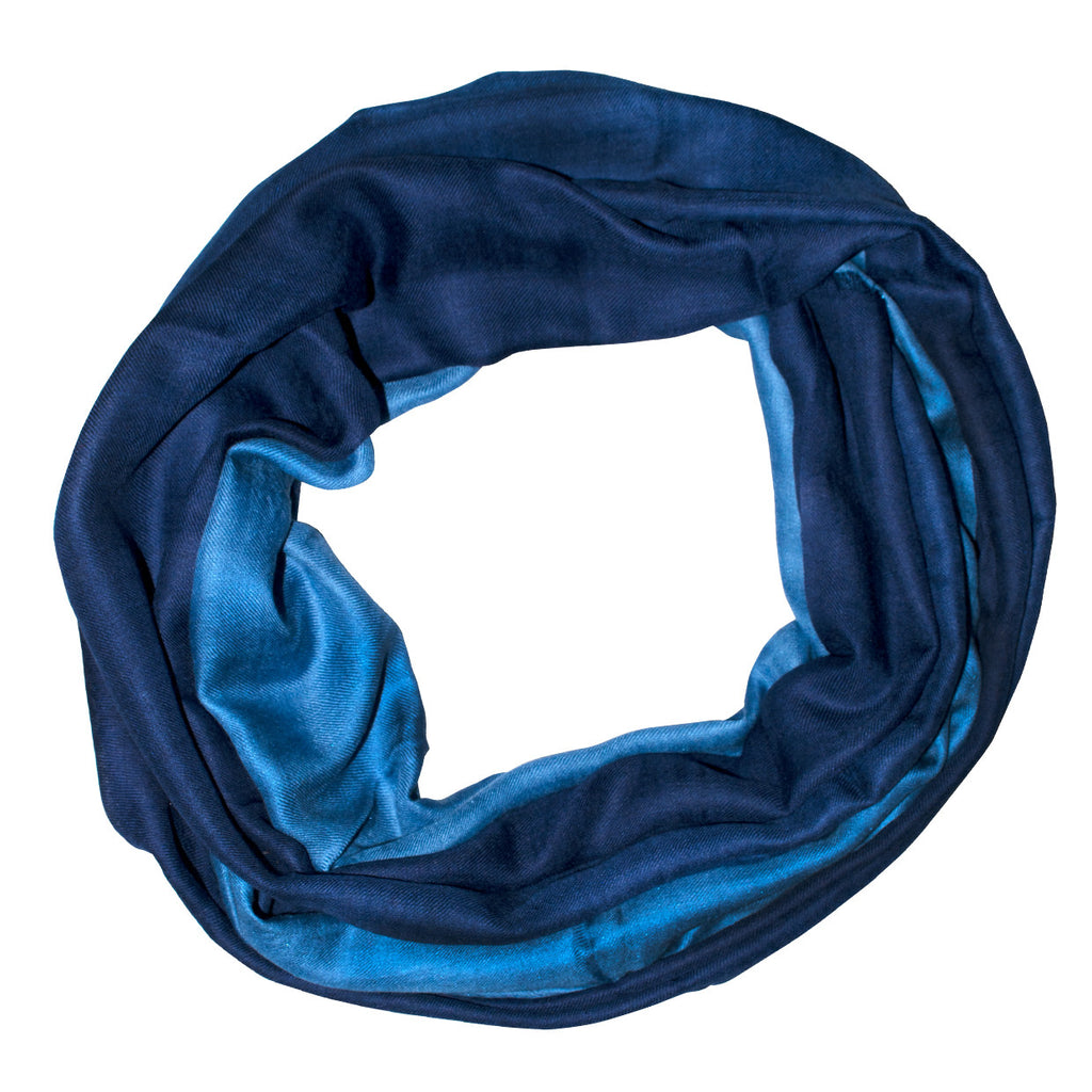 Denim Ombre Scarf