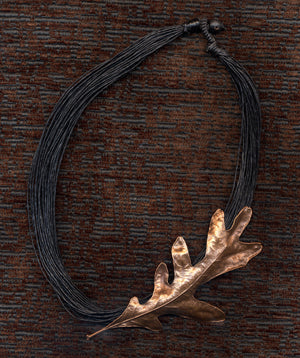 Dunbarton Oak Leaf Necklace