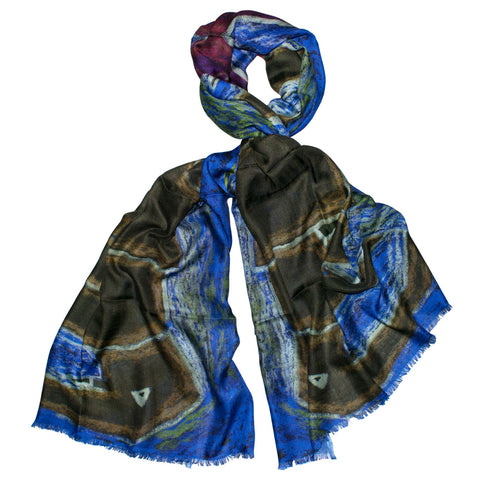 Abstract Elephant Scarf