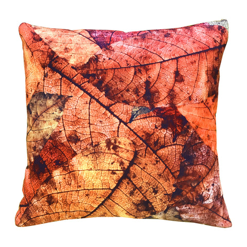 Fall Leaf Indoor Outdoor Pillow