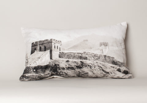 Great Wall Of China Cushion