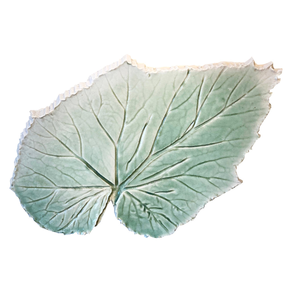 Alice Corning Leaf Small Hors d'oeuvres Plate Celadon