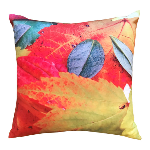 Leaf Canvas Pillow