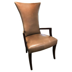 Apollo Wood Arm Chair Mocha