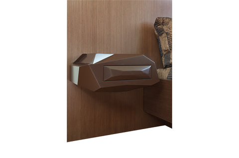 Rock Bed Night Stand - Left