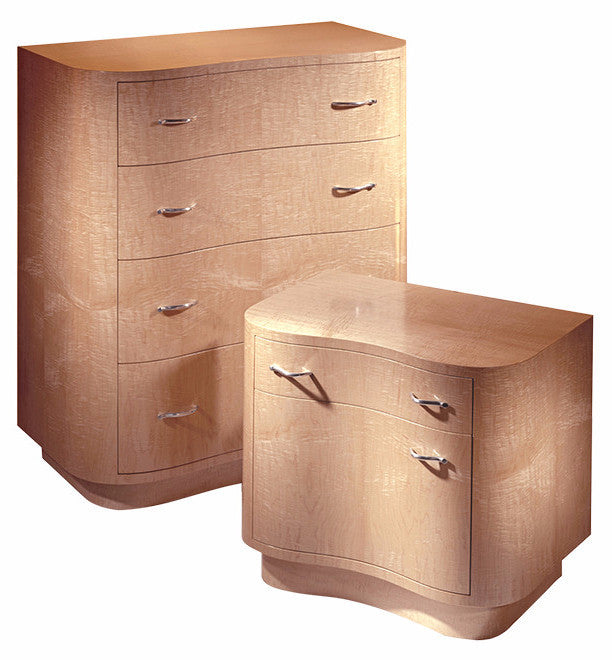 Wave Dresser And Wave Nightstand