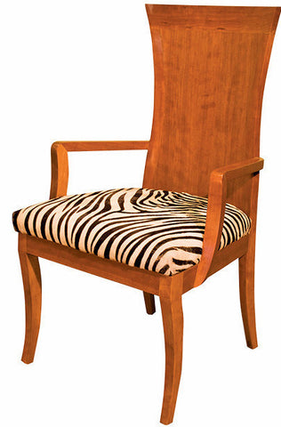 Apollo Wood Back Arm Chair