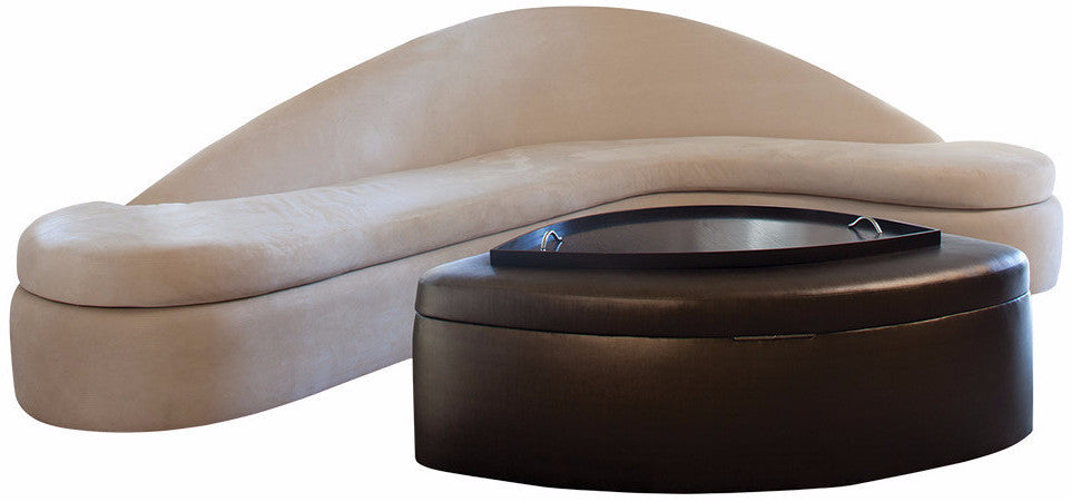 Ridge Sofa With Storage Ottoman