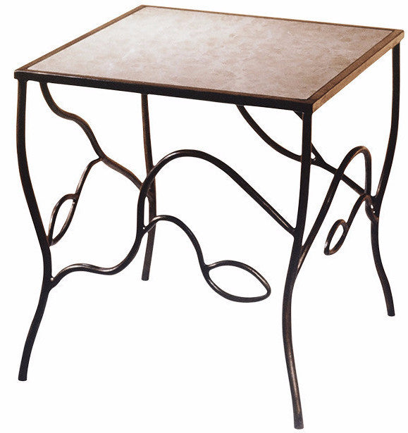 Abstract Leaf Occasional Table